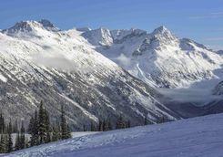 Whistler ski area