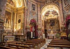 Mdina cathedral interior