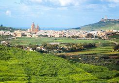 Gozo island village