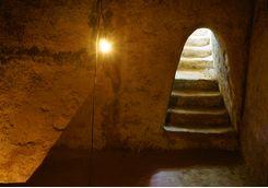 cu chi tunnels underground room