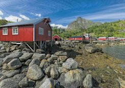 Rorbuer fishing hut