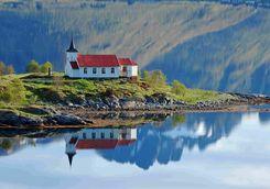 Church in the Lofoten Islands