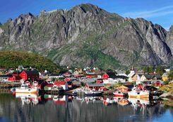 Reine fishing village