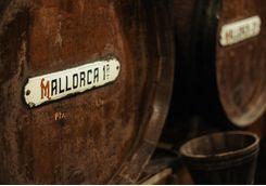 Barrell of wine in Mallorca