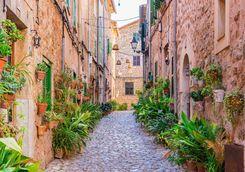 Street of Valldemossa