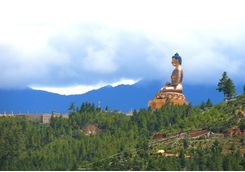 Buddha Dordenma on hilltop