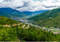 Thimpu mountains