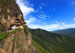 Tiger's Nest hillside