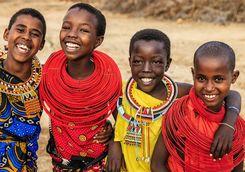 Samburu children