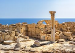 ancient ruins of Kourion