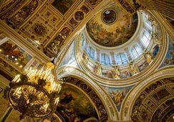 St Isaacs Cathedral interior