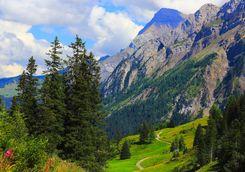 Alps, St Moritz