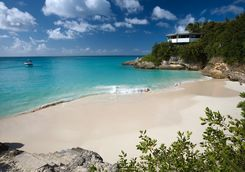 Anguilla beach bay