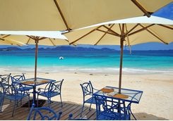 Anguilla beach restaurant