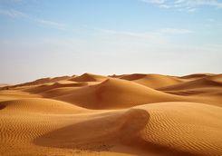 Wahiba desert dunes