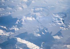 Antarctica aerial