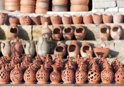 Terracotta handicrafts