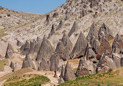 Landscape Selime village