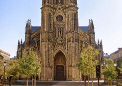 Cathedral in San Sebastian