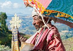 Priest in Axum