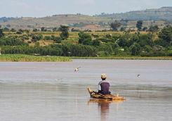 Lake Tana fisherman