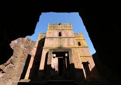 Stone church in Lalibela