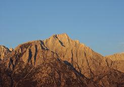 Lone Pine Peak, Sierra Nevada Mountains