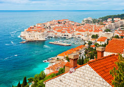a city view of dubrovnik