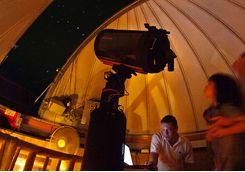 Observatory interior