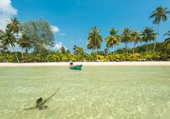 beach boat sun
