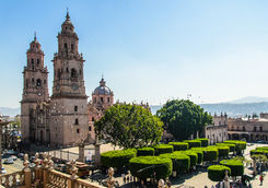 place and church morelia