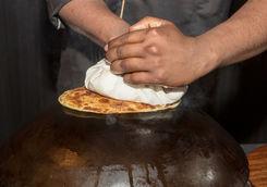 Making of Ulta Tawa Paratha