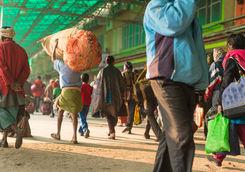 Train station, Kolkata