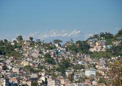 Kalimpong buildings