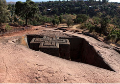 lalibela famous ethiopian church