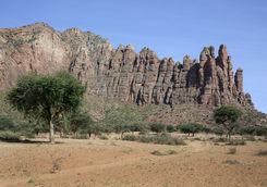 landscape gheralta provice tigray