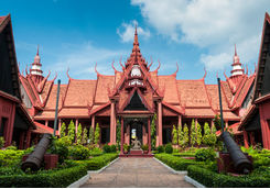 The National Museum in Phnom Penh, Cambodia