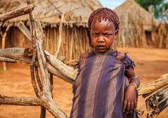 hamer tribe boy