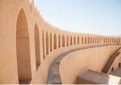 Nizwa fort detail