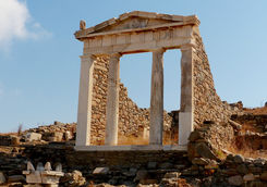 Temple D'Isis in Delos