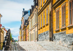 Townhouses in Stockholm