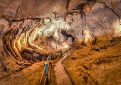 cave underground walk