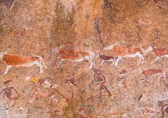 bushmen rock paintings