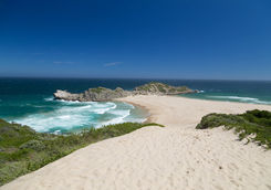Robberg reserve beach