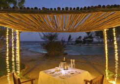 dinner overlooking ocean