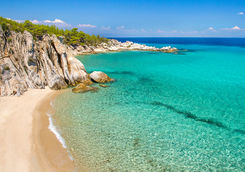 halkidi beach