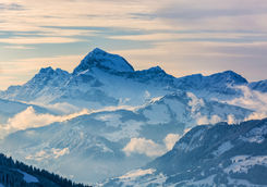 French alps Megeve