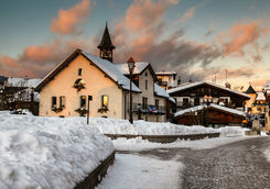 Megeve village