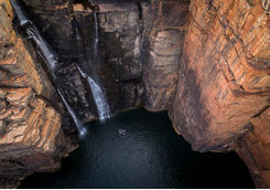 Falls King George river