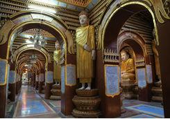 Thanboddhay Pagoda buddha